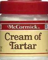 cream of tartaro